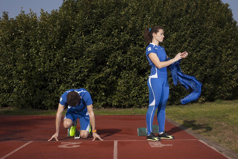 Arjola Dedai si prepara per l'allenamento verso Rio 2016
